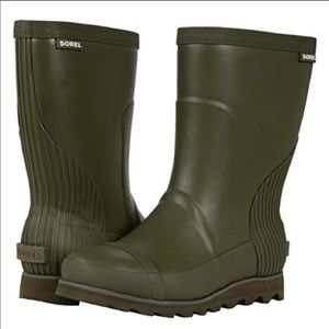 NWT Women's Sorel Joan Rain Boot Short